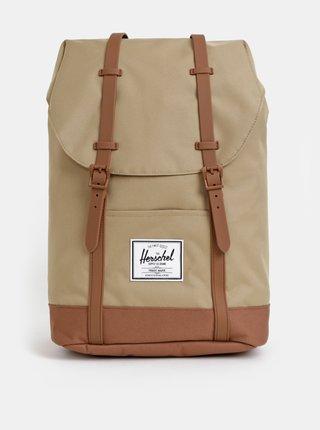 Světle hnědý batoh Herschel Retreat 19,5 l