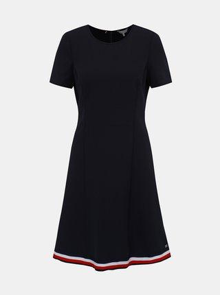 Tmavě modré šaty Tommy Hilfiger Angela