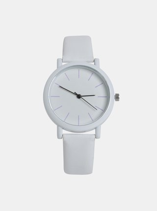 Dámské hodinky s bílým páskem Haily´s Sammy