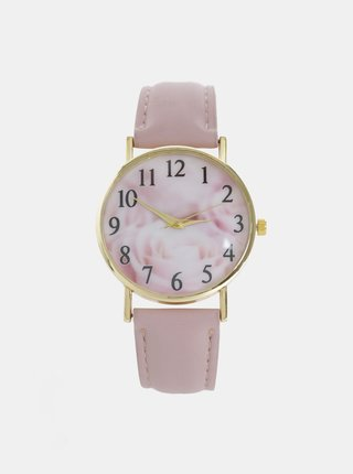 Dámske hodinky se starorúžovým remienkom Haily´s Lilly