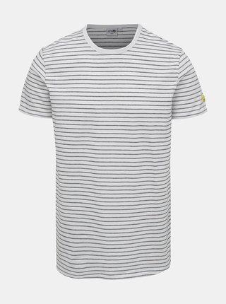 Černo-biele pánske pruhované tričko Haily´s Kane