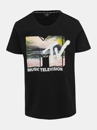 Černé pánské tričko s potiskem Haily´s Music