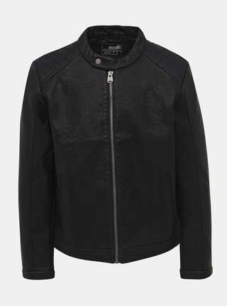 Čierna pánska koženková bunda Haily´s Dillan