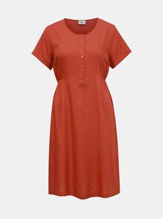 Tehlové šaty na kojenie Mama.licious Alda