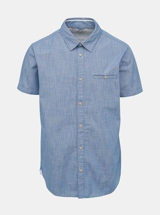 Světle modrá slim fit košile s kapsou Selected Homme Bobby