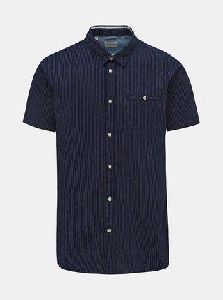 Tmavě modrá pruhovaná slim fit košile Selected Homme Bobby