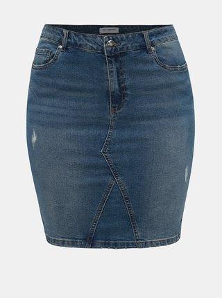 Modrá džínová sukně ONLY CARMAKOMA Fie