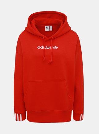 Červená dámská mikina adidas Originals