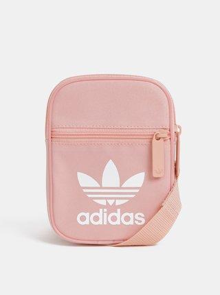 Rúžová crossbody kabelka adidas Originals