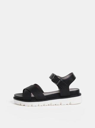 Černé dámské sandály s.Oliver