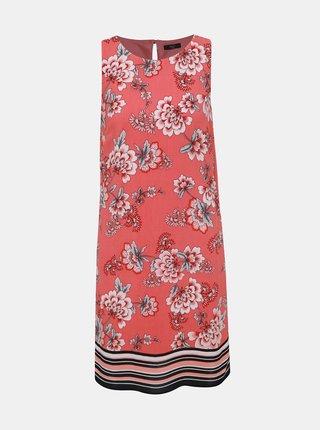 Červené kvetované šaty M&Co Petite