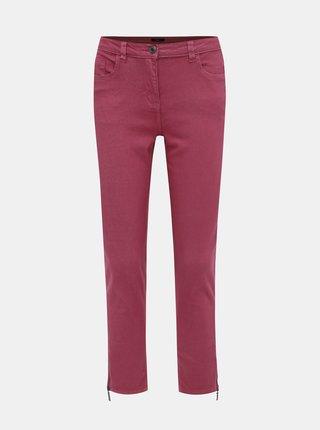 Rúžové dámske slim fit rifle M&Co