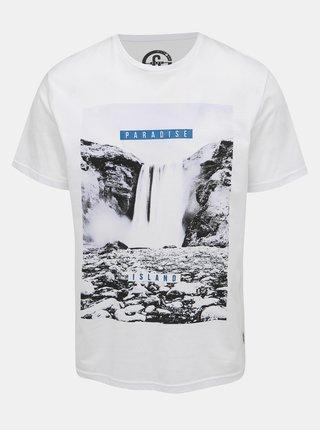 Bílé tričko s potiskem ONLY & SONS Pompey