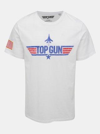 Bílé tričko s potiskem ONLY & SONS Pittsburg
