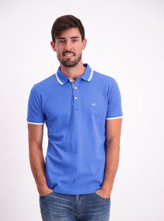 Modré polo tričko Lindbergh