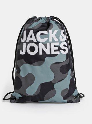 Khaki maskáčový vak Jack & Jones Summer