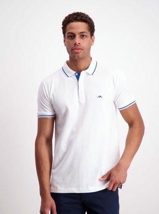 Biele polo tričko Lindbergh