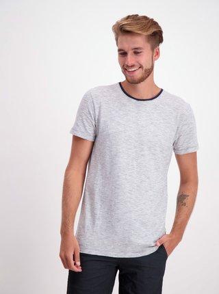 Bílé pruhované basic tričko Lindbergh