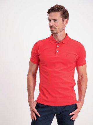Červené polo tričko Lindbergh