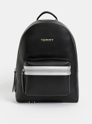 Čierny batoh Tommy Hilfiger Iconic