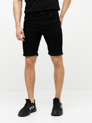 Pantaloni scurti barbatesti negri ONLY & SONS Rod
