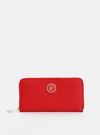 Červená dámská velká peněženka Tommy Hilfiger Poppy