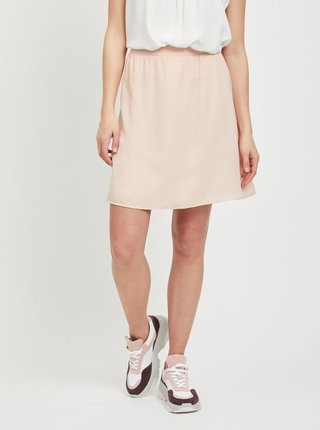 Fusta roz cu model VILA Lucy