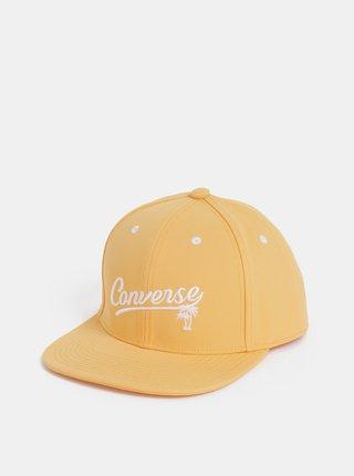 Oranžová dámska šiltovka s výšivkou Converse