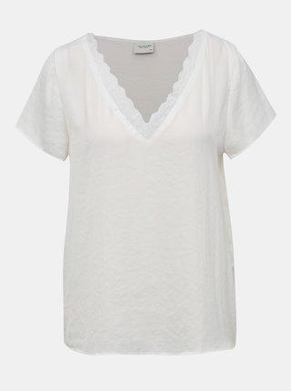 Biela blúzka Jacqueline de Yong Lolly
