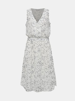 Bílé vzorované šaty Jacqueline de Yong Layla