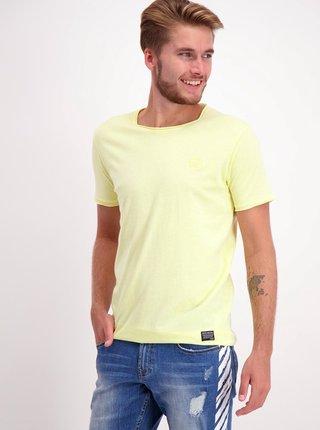 Žluté tričko s nášivkou Shine Original