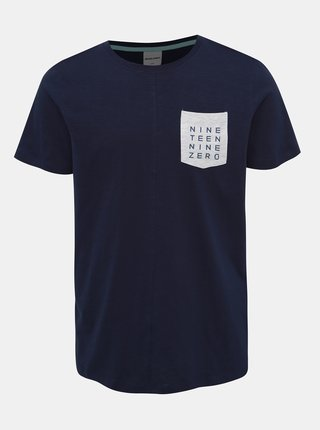Tmavomodré tričko Jack & Jones Codes