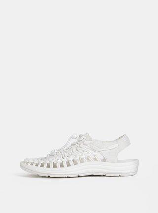 Bílé dámské sandály Keen Uneek