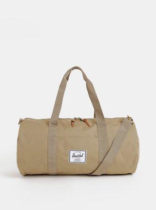 Béžová cestovná taška Herschel Supply Sutton 28 l