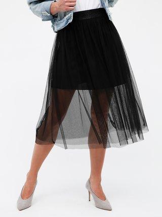Čierna midi sukňa Haily´s Cardy