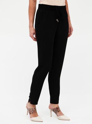 Čierne nohavice s vysokým pásom Dorothy Perkins