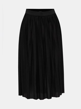 Černá plisovaná sukně Jacqueline de Yong Boa