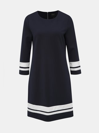Tmavě modré šaty ONLY Poptrash