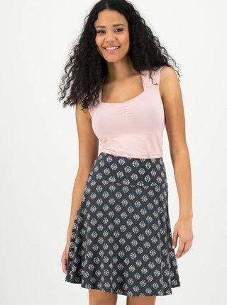 Černá vzorovaná sukně Blutsgeschwister