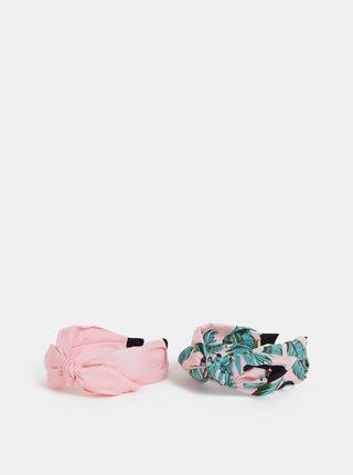 Sada dvoch rúžových čeleniek ONLY Katie