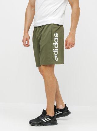 Khaki pánské kraťasy adidas CORE Lin