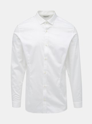 Bílá slim fit košile Jack & Jones Parma