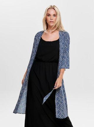 Modré květované kimono Jacqueline de Yong Star