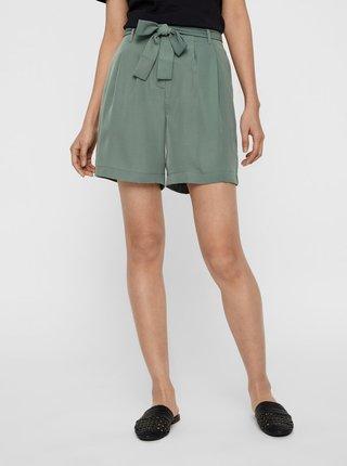 Pantaloni scurti  pentru femei VERO MODA - verde