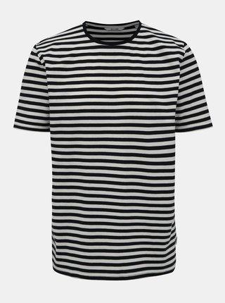 Bílo-modré pruhované basic tričko ONLY & SONS Jamie