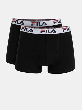 Boxeri mulati pentru barbati FILA - negru, albastru inchis, rosu