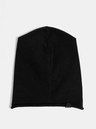 Čierna čapica Jack & Jones Washed