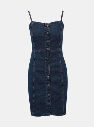Tmavě modré džínové šaty Jacqueline de Yong Sanna