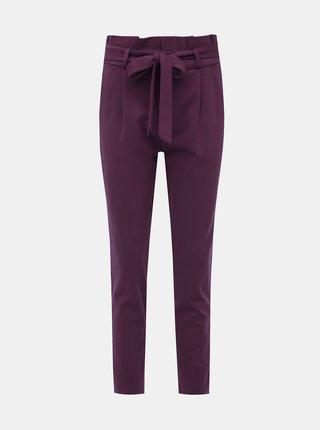 Vínové kalhoty VERO MODA Eva