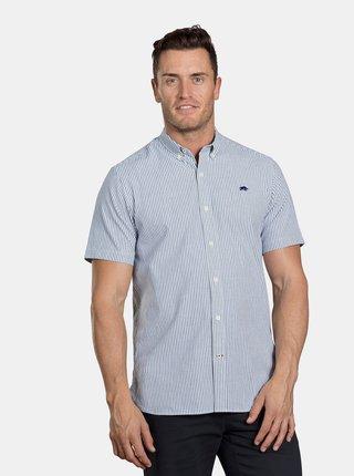 Modrá pruhovaná košeľa Raging Bull